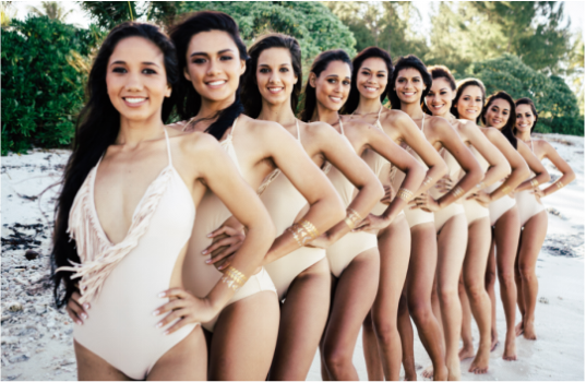 Miss tahiti 2015 finalists
