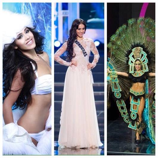 Diana Schoutsen , Miss Honduras Universe 2013 represented Honduras at the Miss Universe in Russia.
