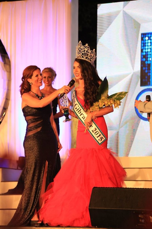 Winner of Miss Gibraltar 2015 Hannah Bado
