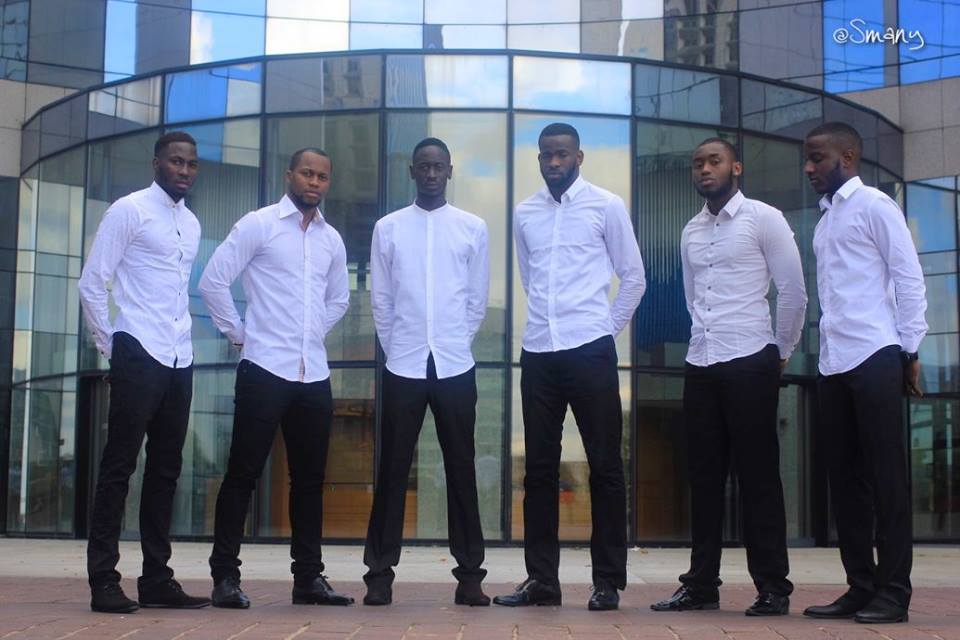 Delegates of Mister Senegal-France 2016