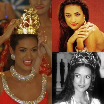Tatiana castro Abuchaibe - miss Colombia 1994 and Miss Universe 1995 Finalist