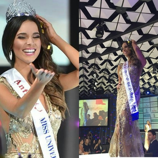 Monika Radulovic Crowned Miss Universe Australia 2015