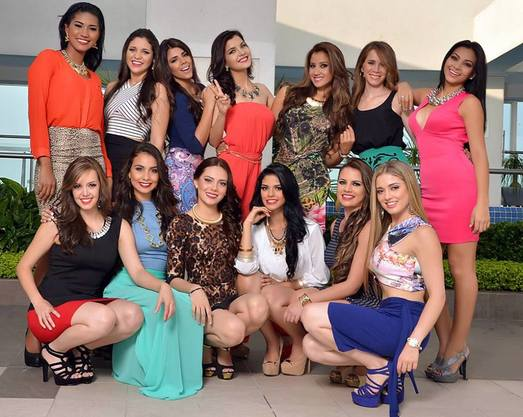 Miss World Ecuador 2015 finalists