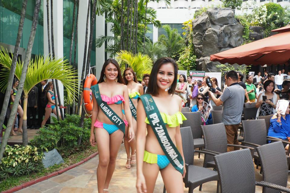 Miss earth philippines 2015 press presentation