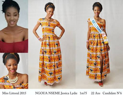 Ngoua Nseme Jessica Lydie is Miss World Cameroon 2015