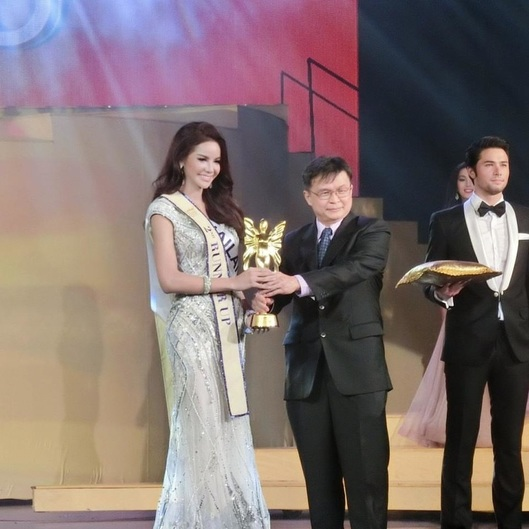 Sopida Siriwattananukoon from Thailand as 2nd Runner Up of Miss International Queen 2015