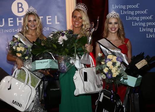 Miss Earth Sweden-Maria Taipaleenmäki,  Miss Universe Sweden- Paulina Brodd and  Miss International Sweden-Isabella J Forsman.