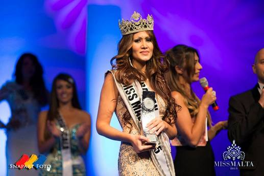 Sarah Mercieca  Crowned Miss Malta 2015