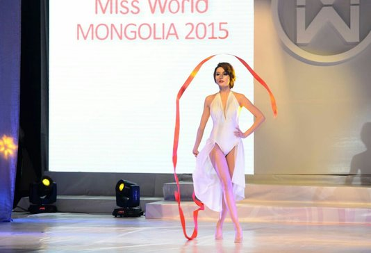 Miss World Mongolia 2015 Anu Namshir