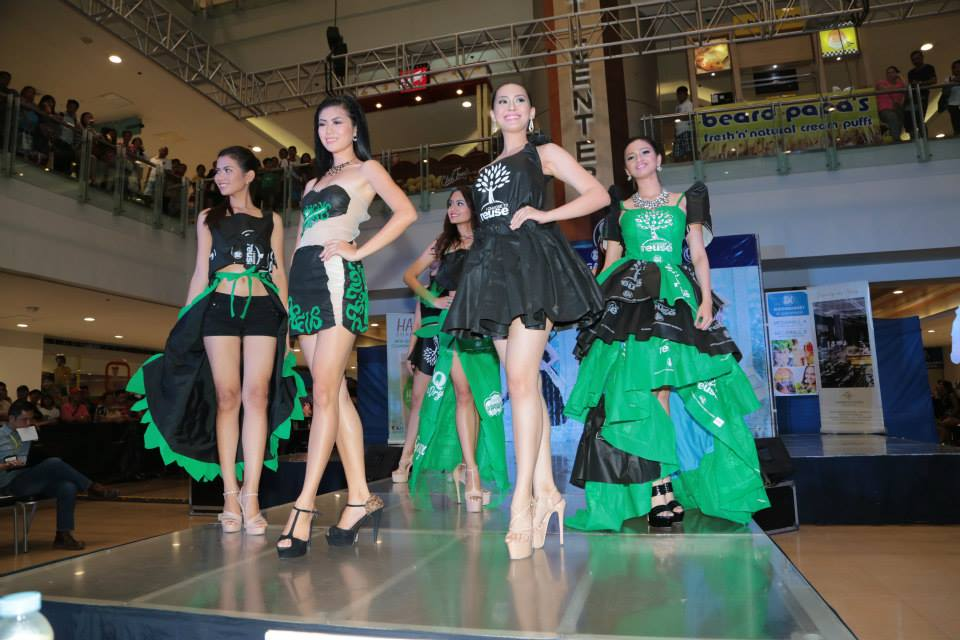 The Miss Earth Philippines  2015 pageant: The ladies strut their stuff in the own Eco creation