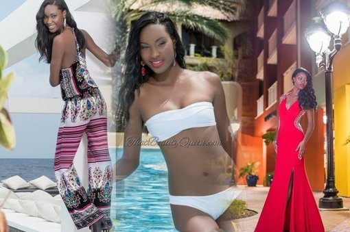 Second runner-up Miss Universe Curacao 2015 Shaedith Adriana