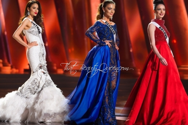 Miss Universe 2015 Preliminaries: Evening Gown Favorites - That ...