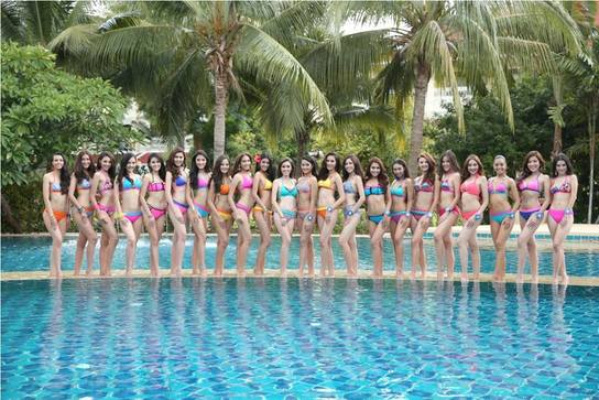 Miss Thailand World 2015 - official swimsuit