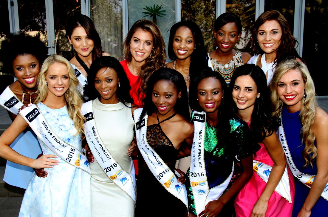 Miss SA 2016 top 12 finalists - Photo by Yolanda van der Stoep