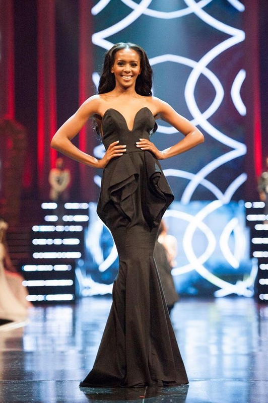 Ntsiki Mkhize in evening dress