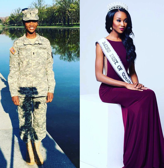 Deshauna Barber, Miss DC USA crowned Miss USA 2016
