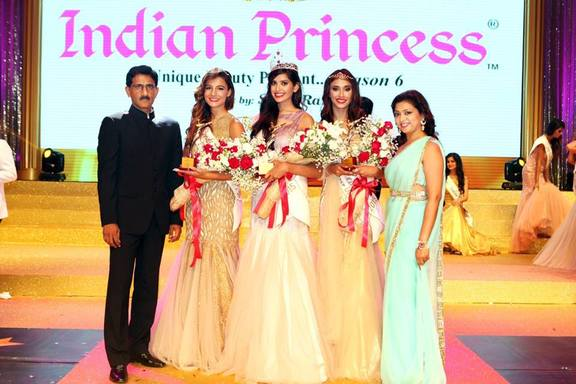 Snehapriya Roy is Indian Princess 2015 with Shaista  Marianne and Sukanya Bhattacharya