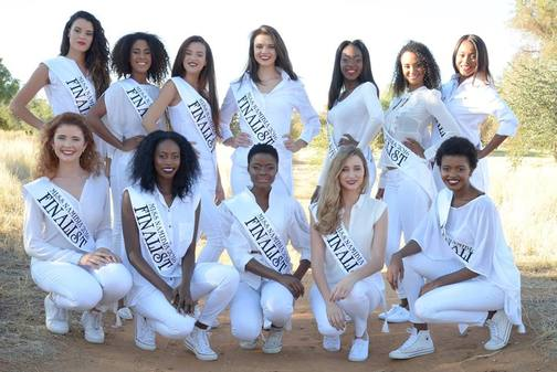 Delegates of Miss Namibia 2016