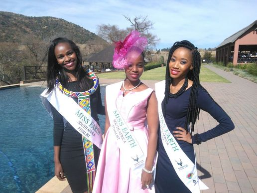 Finalists of Miss Earth South Africa 2016