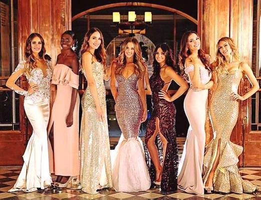 History is made! Maminydjama Magnolia Maymuru at the finale of the Miss World Australia pageant