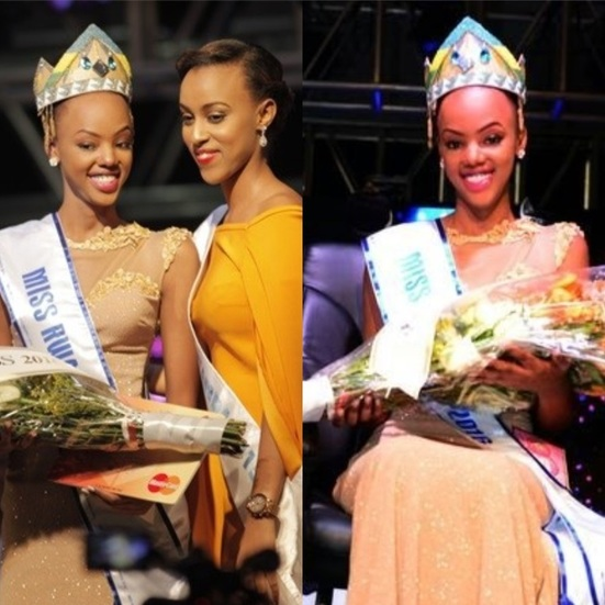 Mutesi Jolly Miss Rwanda 2016 will represent her country at the 66th Edition of the Miss World pageant